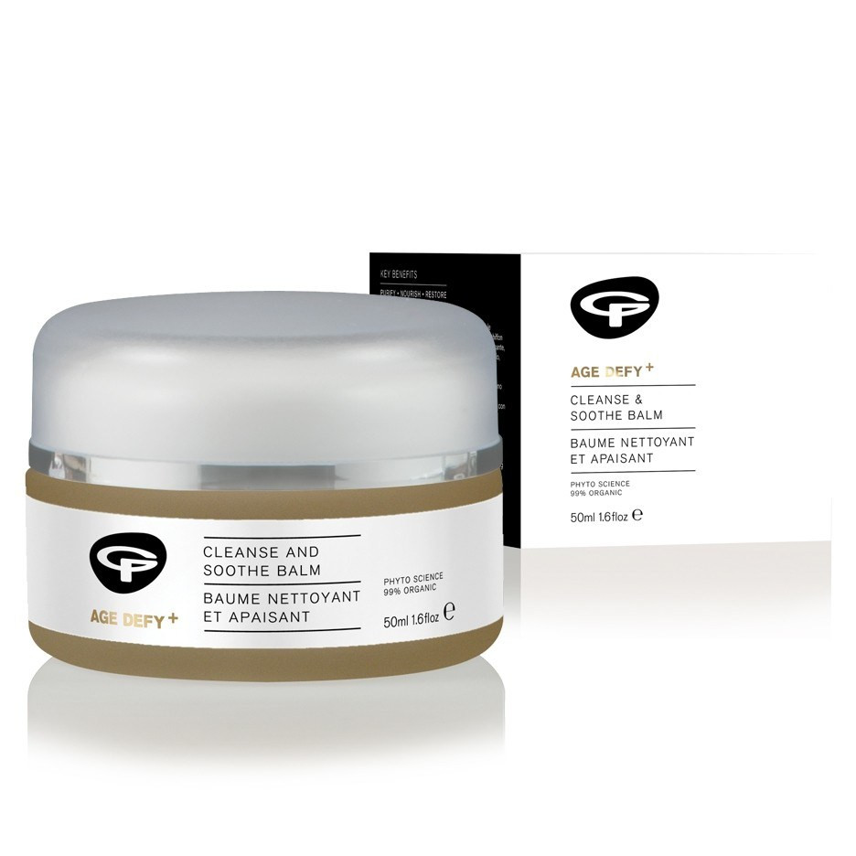 Green People Age Defy+ Cleanse & Soothe Balm (50 ml)