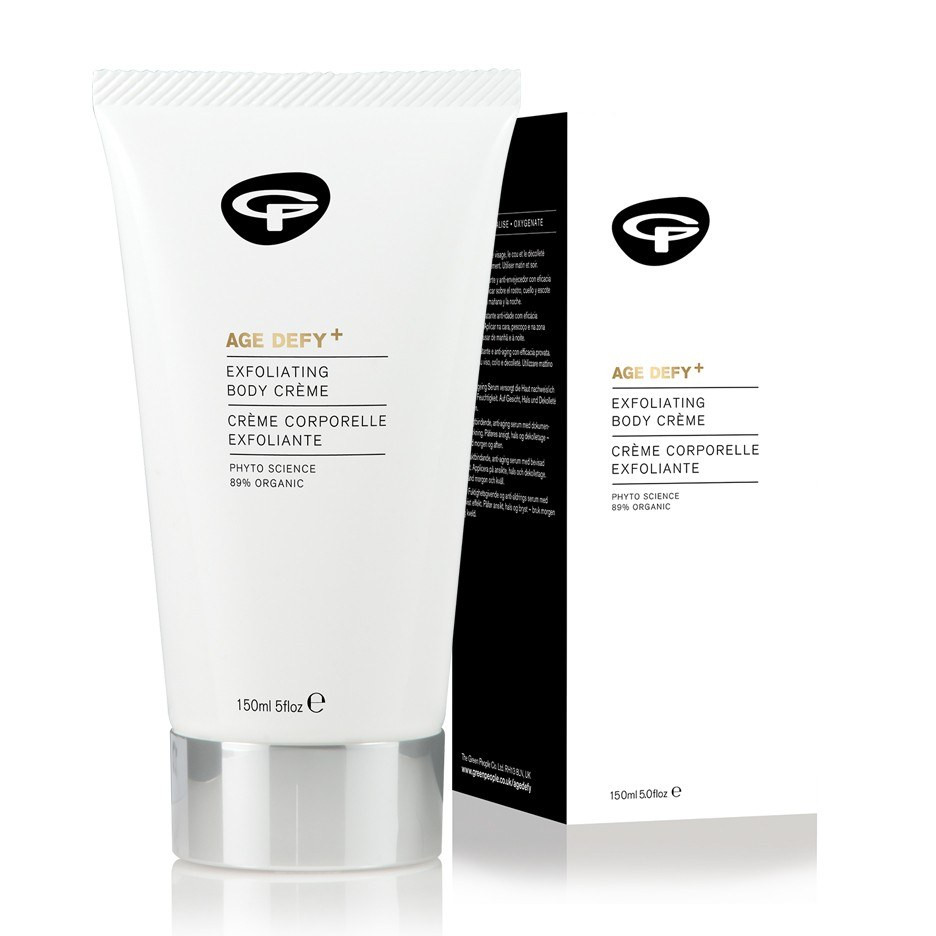 Green People Age Defy+ Exfoliating Body Cream (150 ml)