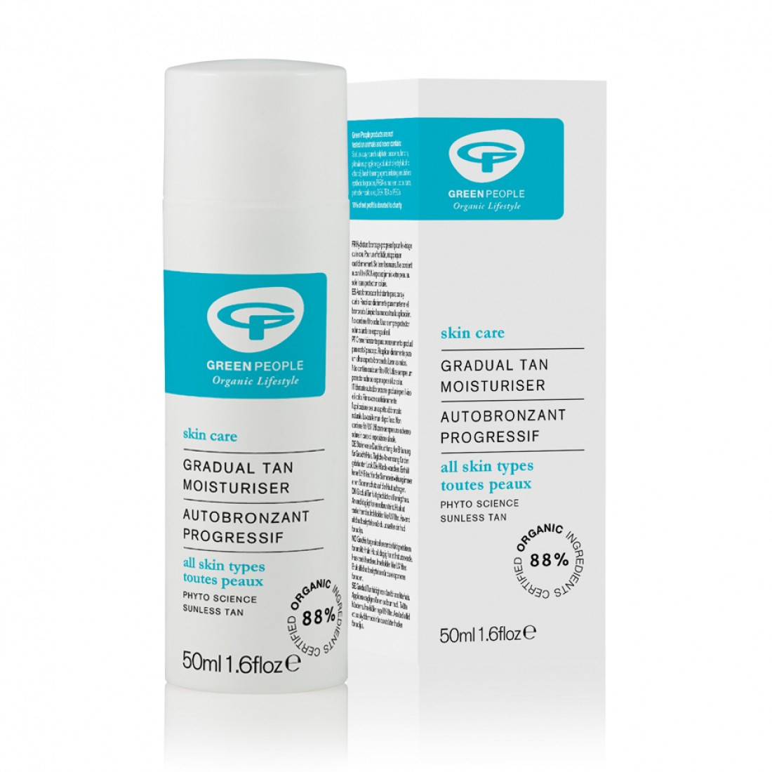Green People Gradual Tan Moisturiser (50 ml)