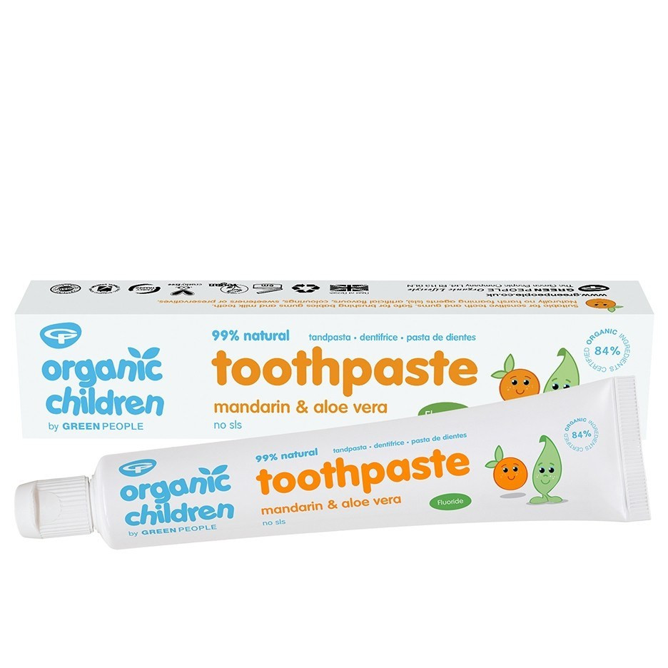Green People Mandarin Toothpaste with Fluoride (50 ml)