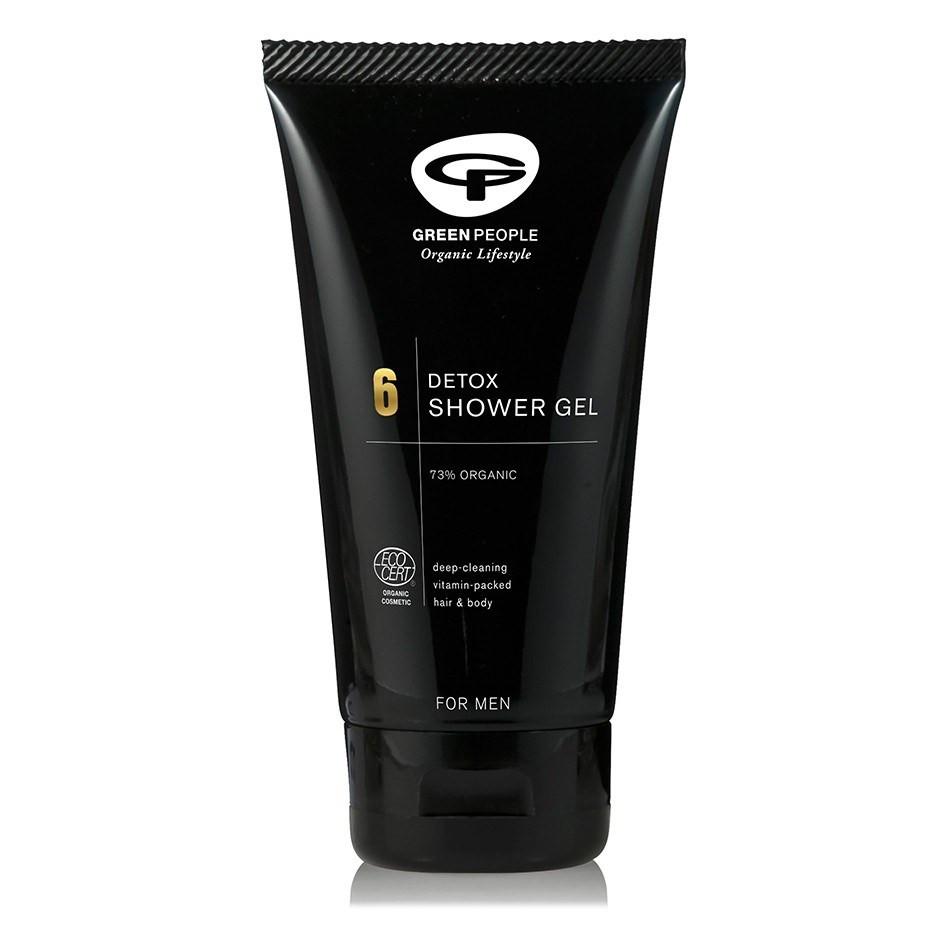 Green People Men's Care No. 6 Detox Shower Gel (150 ml)