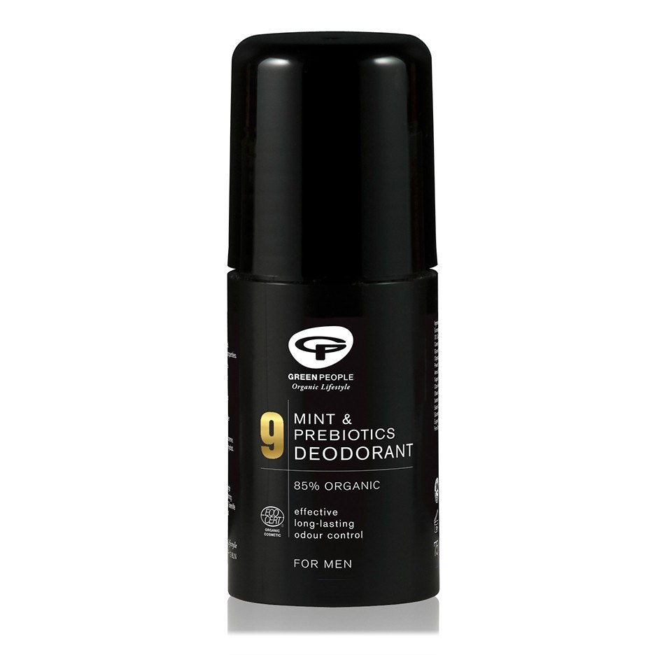 Green People Men's Care No. 9 Mint & Prebiotics Deodorant (75 ml)