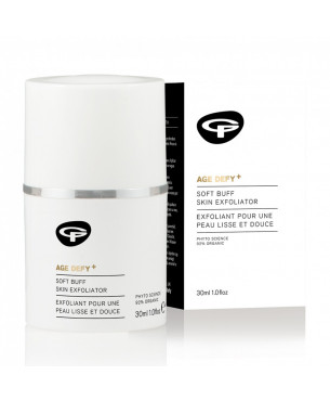 Green People Age Defy+ Soft Buff Skin Exfoliator (30 ml)