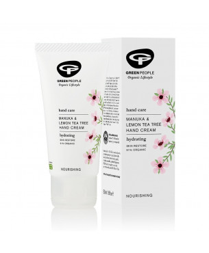 Green People Manuka & Lemon Tea Tree Hand Cream (50 ml)