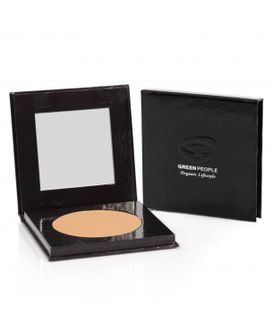 Green People Pressed Mineral Powder - Caramel Medium (10 g)