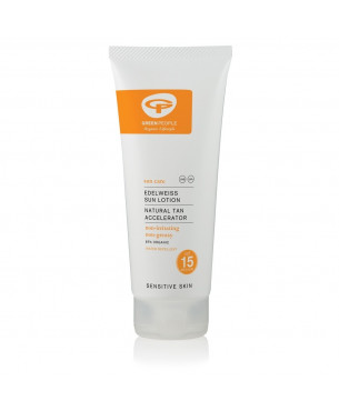 Green People Sun Lotion SPF15 with suntan accelerator (200 ml)