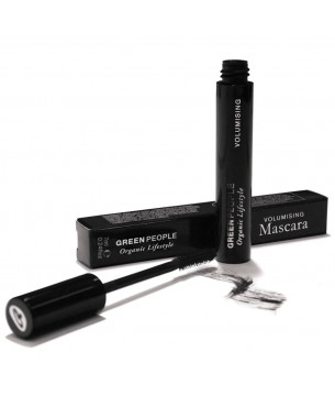 Green People Volumising Mascara - Brown/Black (7 ml)